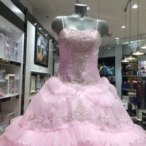 Pink Quinceañera dress